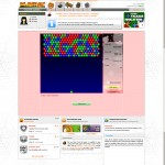 Screenshot, Playray Bubbles by 2008.