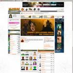 Screenshot, Playray main page by 2008.