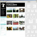 Sketch of the gallery page, Mikropaliskunta II, 2007