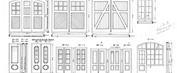 Original door types by  Palmqvist.