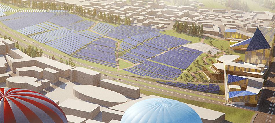 A SOLAR POWER PLANT STUDY